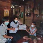 DPMDSos Barito Timur Berikan Santunan kepada Lansia Terlantar