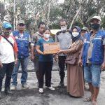 Korban Kebakaran Desa Tampa Dan Ampah Kota Dapat Bansos Dari DPMDSos Barito Timur